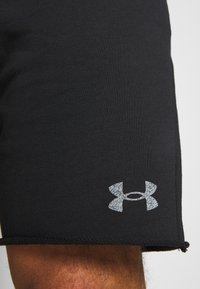Under Armour - PROJECT ROCK TERRY SHORTS - Sports shorts - black