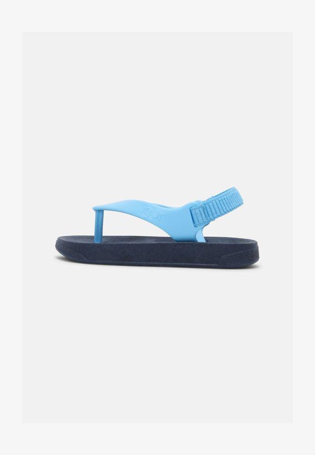 FLIP UNISEX - Sandalias de dedo - marino azul