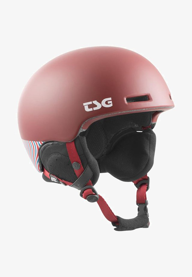 Helm - gum red