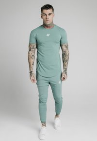 SIKSILK - Basic T-shirt - light petrol blue - 0