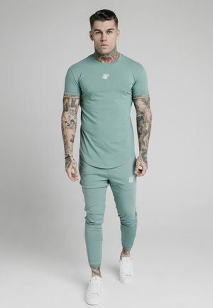 Basic T-shirt - light petrol blue