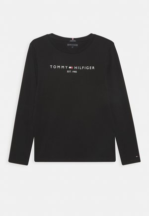 ESSENTIAL TEE - Long sleeved top - black