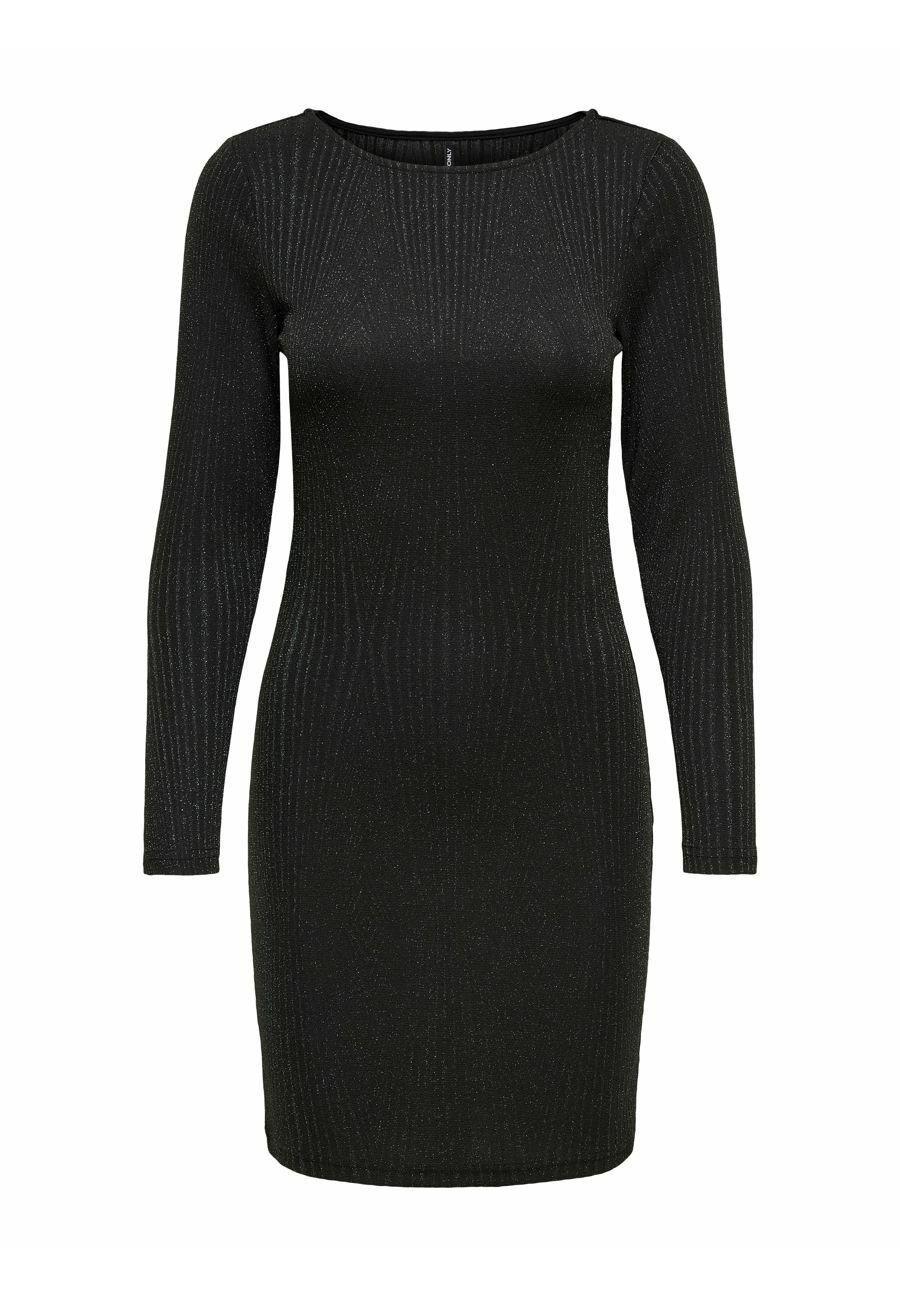 Mujer Vestido de punto - black