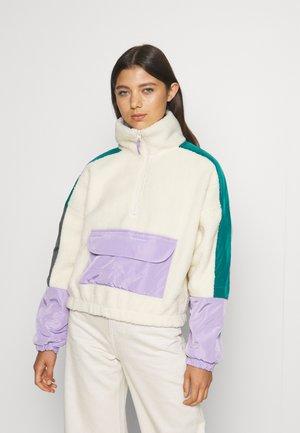 GALI - Fleece jumper - offwhite/multi