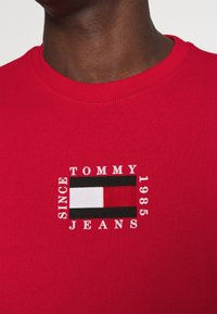 Tommy Jeans - Long sleeved top - deep crimson - 4