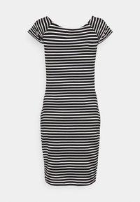 Even&Odd - Vestido de tubo - black/white - 6
