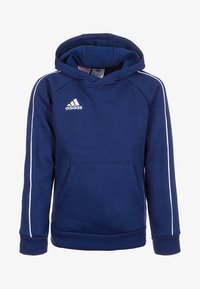 adidas Performance - CORE - Hoodie - dark blue/white - 0