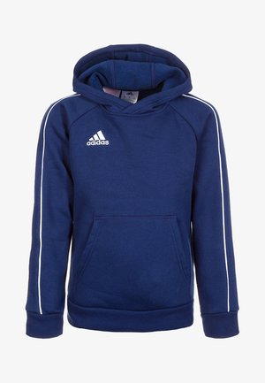 CORE - Kapuzenpullover - dark blue/white