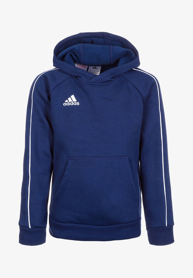 CORE - Sweat à capuche - dark blue/white