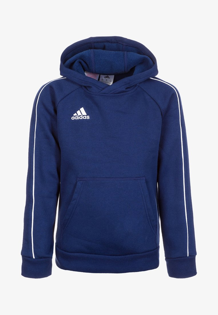 adidas Performance - CORE - Hoodie - dark blue/white