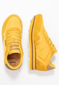 Woden - NORA II PLATEAU - Sneaker low - mango - 3