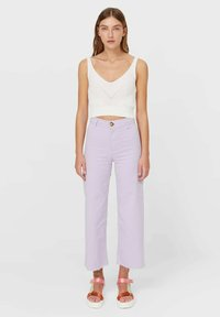 Stradivarius - Top - white - 1