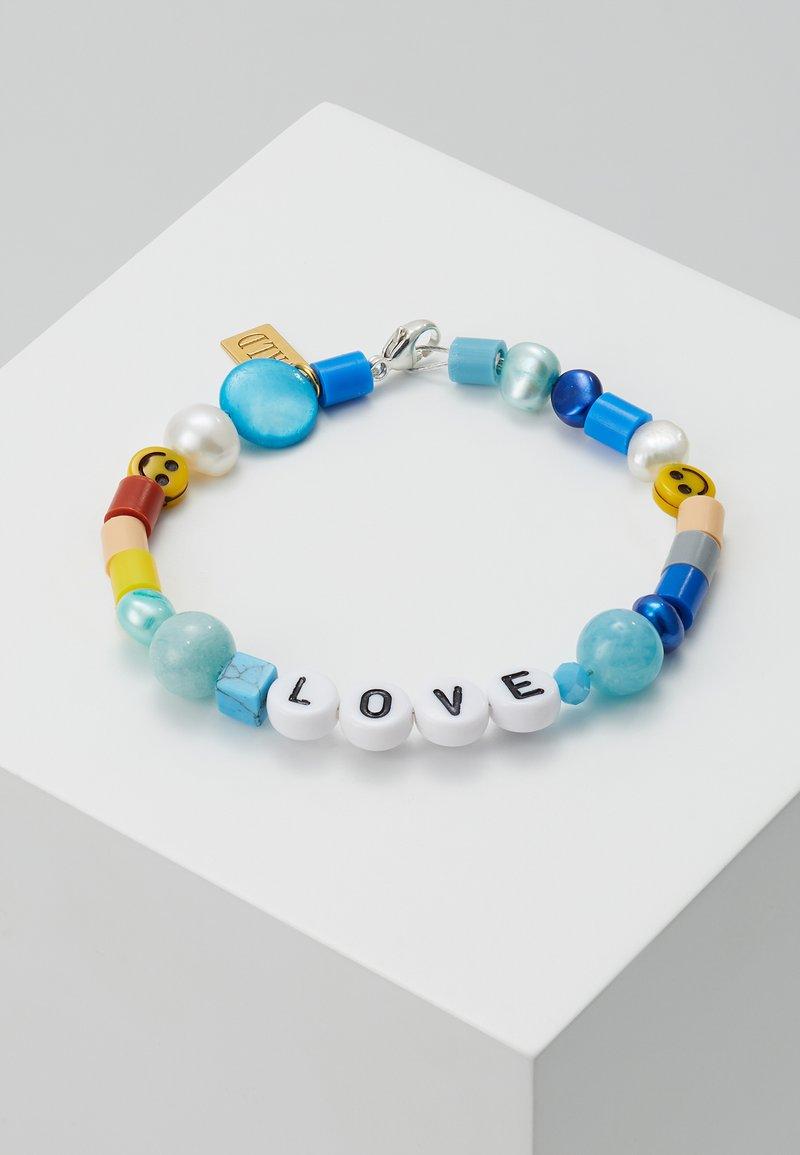 WALD - CANDY MAN BRACELET LOVE - Bracelet - blue