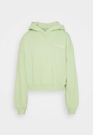 STYLE HOODIE CORBY - Sweatshirt - pastel green