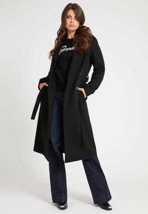 Klasický kabát - schwarz