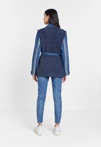Desigual - CHAQ_MIZUKI - Cappotto corto - blue - 2