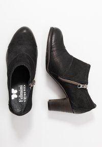 Felmini Wide Fit - WANDA - Kotníková obuv - pacific black - 3
