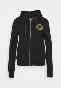 Versace Jeans Couture - Zip-up hoodie - black - 0