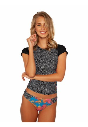 LYCRA - Rash vest - true black