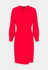 Pinko - ERIN ABITO TECNICO FLUIDO - Day dress - red - 0