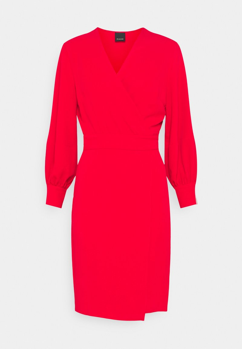 Pinko - ERIN ABITO TECNICO FLUIDO - Day dress - red