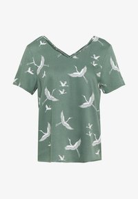 ONLY - ONLALMA LIFE STRING - Blouse - hedge green - 0