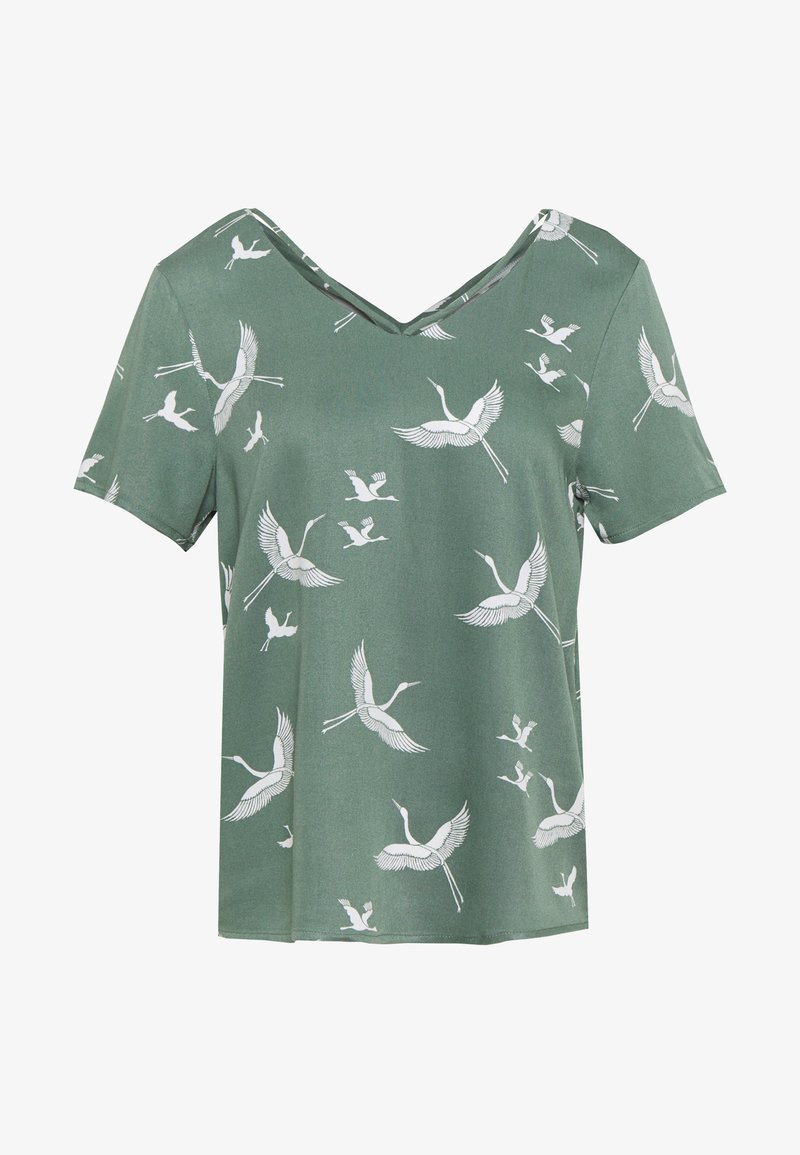 ONLY - ONLALMA LIFE STRING - Blouse - hedge green