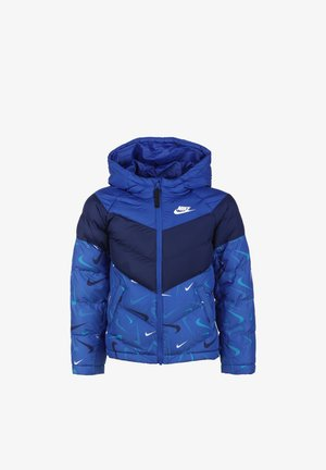 Winter jacket - game royal/blue void/white