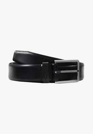 BOMBED BELT - Skärp - black