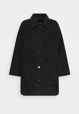 NIMRA JACKET - Płaszcz wełniany /Płaszcz klasyczny - black