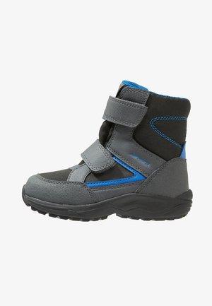KURAY BOY ABX - Winter boots - black/royal