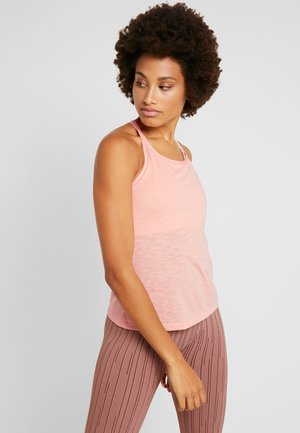 TEXTURE STRAP RACERBACK - Toppe - trigger pink