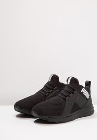 Puma - ENZO WEAVE - Sports shoes - black/white - 2