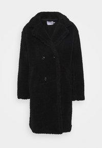 Topman - TEDDY COAT - Classic coat - black - 4