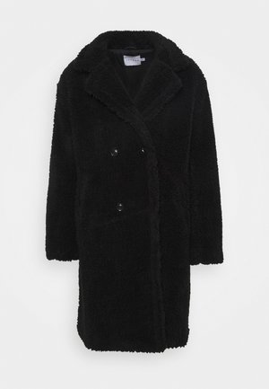 TEDDY COAT - Klassisk frakke - black