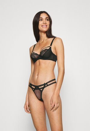 ITZEL 3 PACK - Thong - black