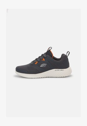 BOUNDER - Sneakers basse - charcoal/orange