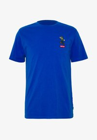 Levi's® - LEVI'S® SUPER MARIO GRAPHIC - Print T-shirt - blue - 0