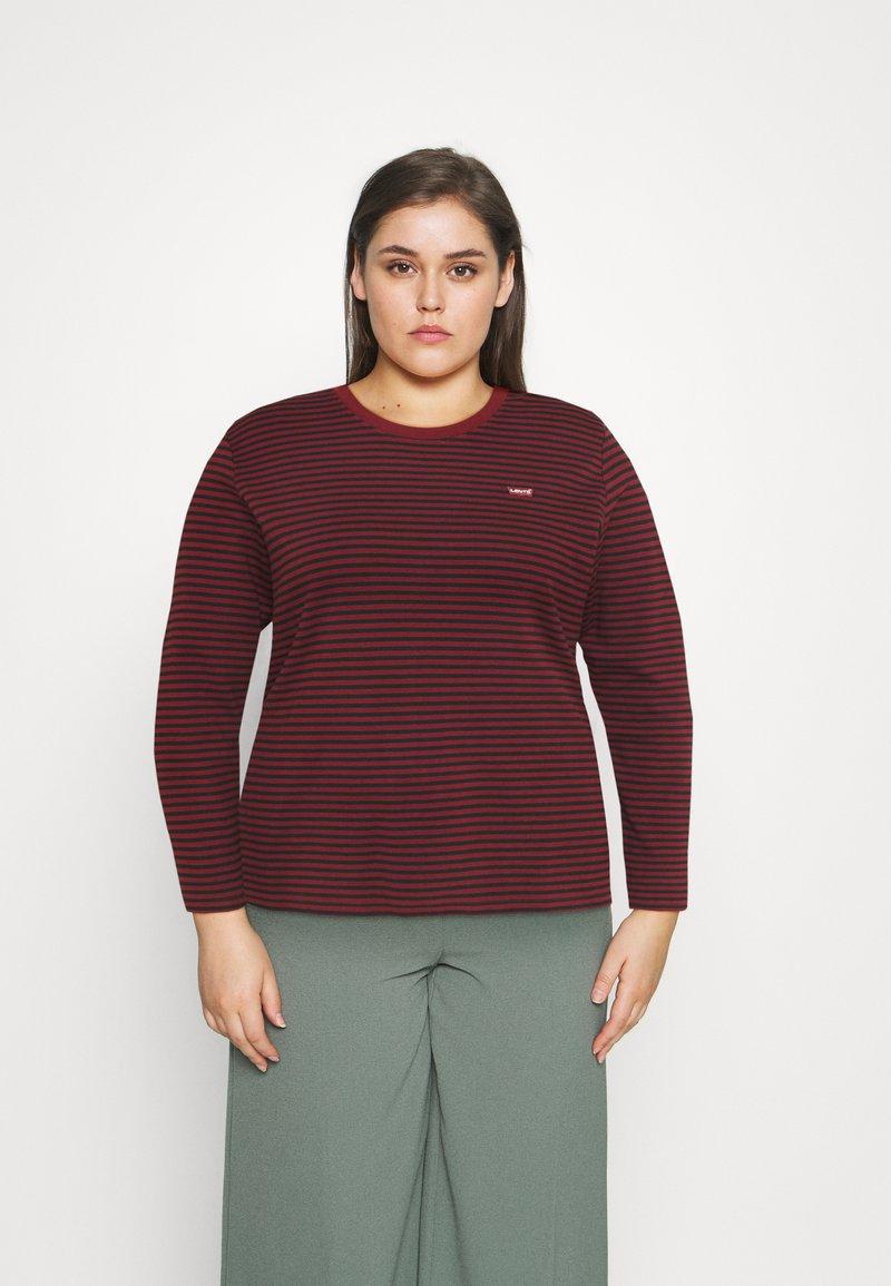 Levi's® Plus - LONG SLEEVE BABY TEE - Long sleeved top - brown