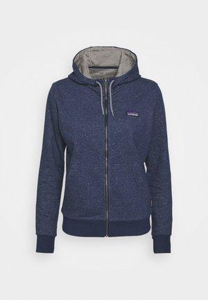 FULL ZIP HOODY - Zip-up sweatshirt - navy blue