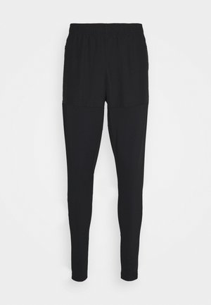 PRO PANT - Tracksuit bottoms - black/shocking orange