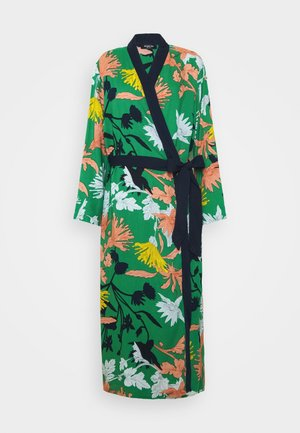 PRETTY SECRETS BELTED GOWN - Dressing gown - green