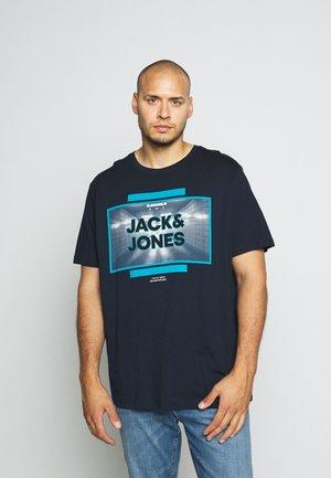 JCOTUNEL TEE CREW NECK - T-shirt print - sky captain