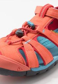Keen - SEACAMP II CNX - Chodecké sandály - coral/poppy red - 2