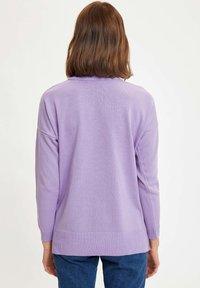DeFacto - Maglione - purple - 1