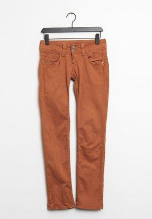Jeans Straight Leg - orange