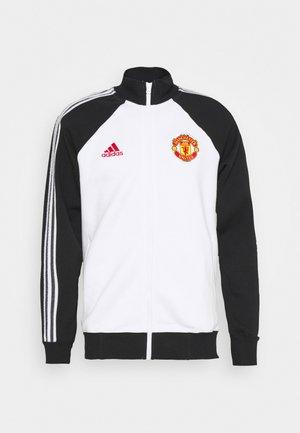 MUFC ICONS - Training jacket - black/white