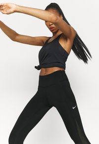 Nike Performance - EPIC LUXE COOL - Tights - black/silver - 3