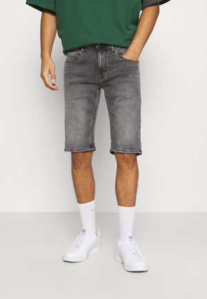 RONNIE - Denim shorts - devon grey stretch