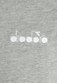 Diadora - TRACKSUIT CORE - Træningssæt - light middle grey melange - 8